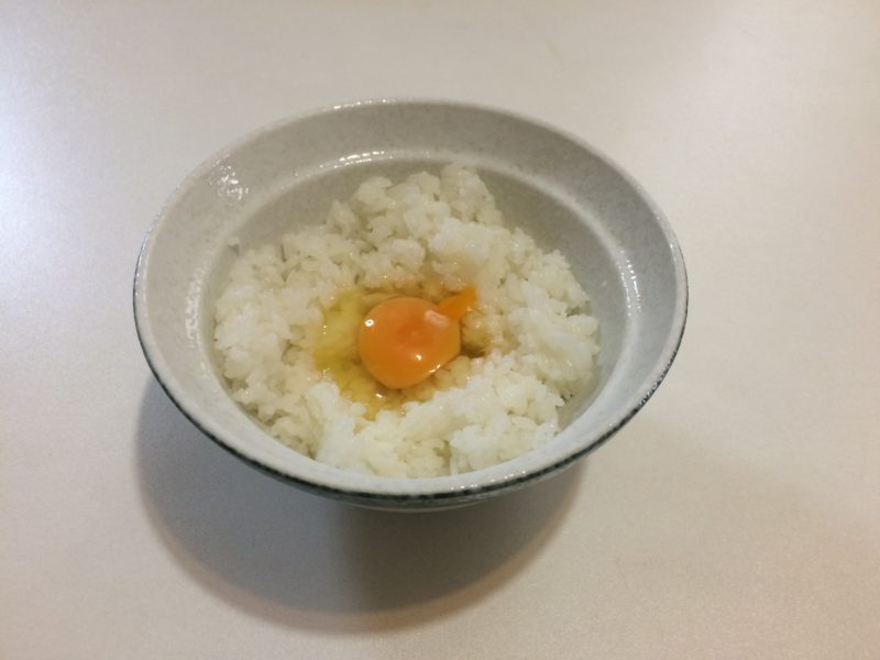 納豆卵かけごはん