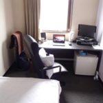 ビジネスホテルでミニマリスト体験。