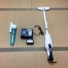 マキタの充電式クリーナーで畳の目を掃除した結果。
