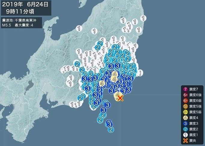 20190624千葉県地震