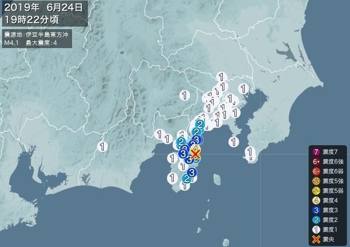 20190624静岡県伊豆地震